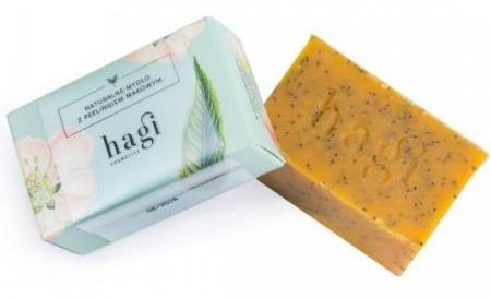 Naturalne mydło z olejem z rokitnika i peelingiem makowym 100g