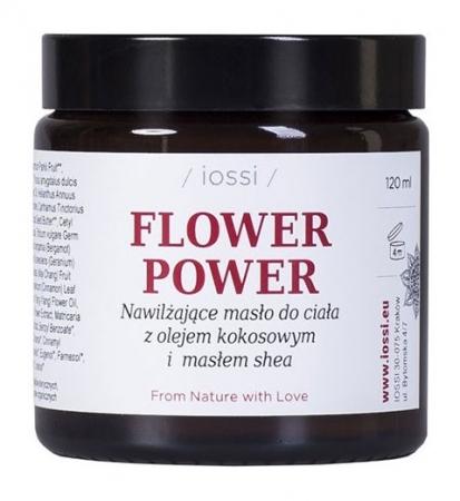 Nawilżające masło do ciała Flower Power z olejem kokosowym i masłem shea 120ml