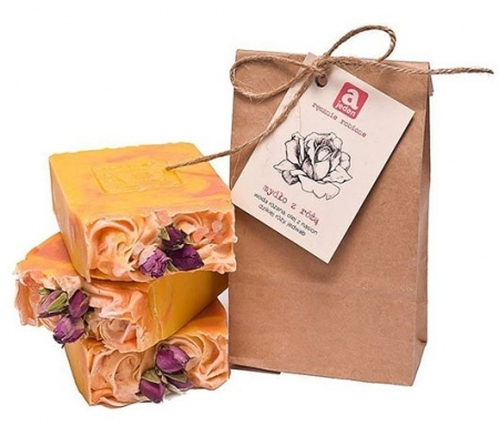 Mydło z różą 150g