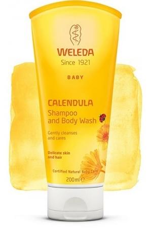 Mydło i szampon dla niemowląt i dzieci z nagietkiem lekarskim 200ml