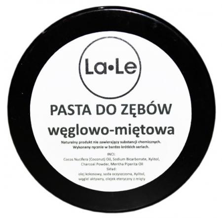 Dwukolorowa pasta do zębów węglowo-miętowa 100ml