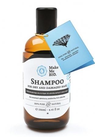 Delikatnie pieniący się szampon z dziką różą 250ml