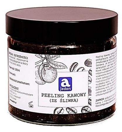 Peeling kawowy z olejem z pestek śliwek 250ml