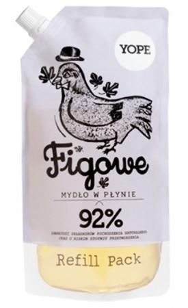 Naturalne mydło w płynie Figowe - Zapas 500ml