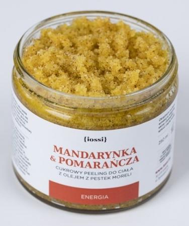 Peeling do ciała Energetyzująca Mandarynka i Pomarańcza 250ml