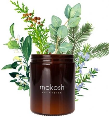 Roślinna świeca sojowa Jodłowy bór