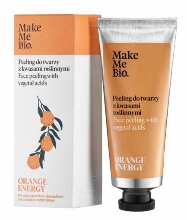 Peeling do twarzy z kwasami roślinnymi Orange Energy 40ml