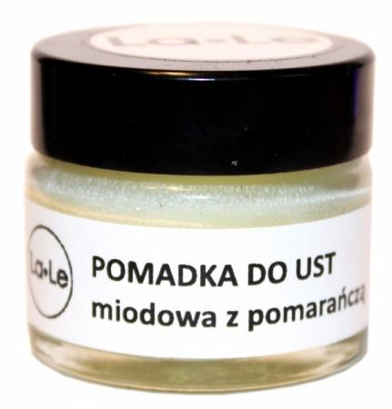 Balsam - pomadka do ust Miodowa z Pomarańczą 15ml