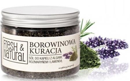 Borowinowa sól do kąpieli z algami, rozmarynem i lawendą 500g