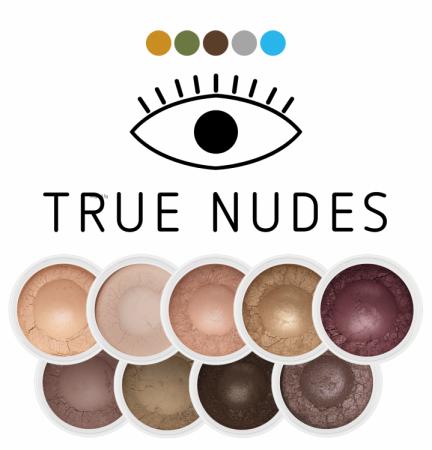 Zestaw mini cieni True Nudes