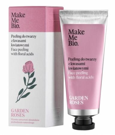 Peeling do twarzy z kwasami roślinnymi Garden Roses 40ml