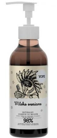 Naturalny szampon do włosów Mleko Owsiane 300ml