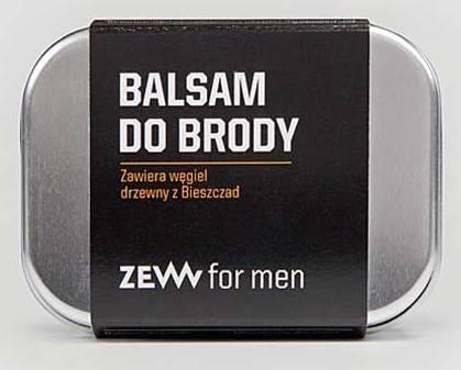 Balsam do brody z węglem drzewnym z Bieszczad 85ml