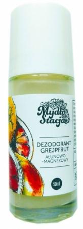 Grejpfrutowy dezodorant ałunowo - magnezowy 50ml