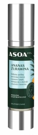 Peeling enzymatyczny ananas-żurawina 50ml