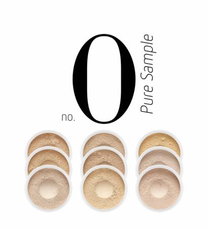 Zestaw próbek podkładów Pure Sample No.0
