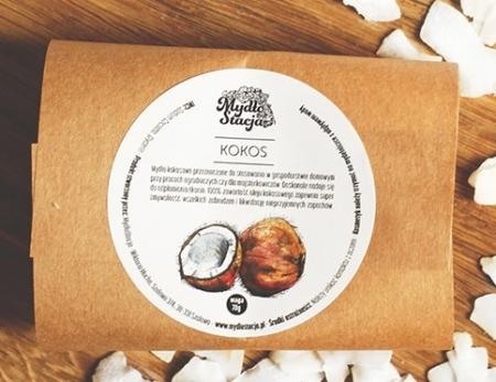 Mydło naturalne Gospodarczy Kokos 70g