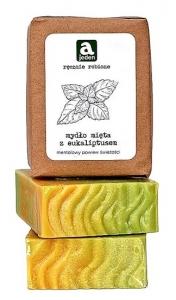 Mydło miętowe z eukaliptusem 150g
