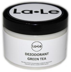 Dezodorant ekologiczny w kremie z olejkiem z zielonej herbaty (plastik) 150ml