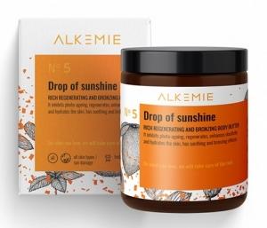 SUN FOR EVERYONE Bogate masło regenerująco-brązujące do ciała Drop of sunshine 180ml